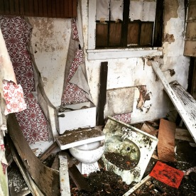 Destroyed Bathroom