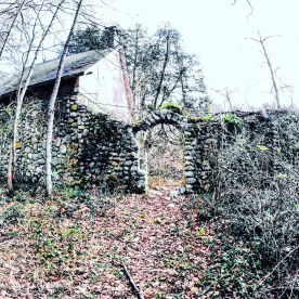 """Arch entrance to """"the secret garden."""""""